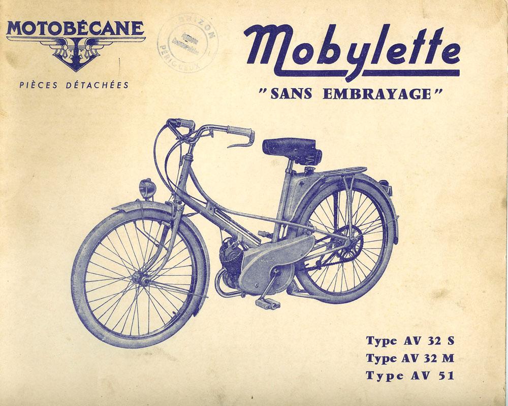 La Petite Huguette Entre En Atelier Mobylette De 1954